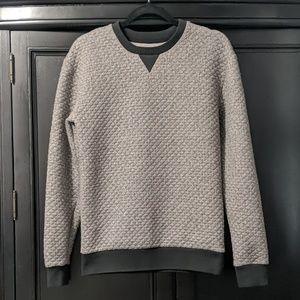 Zara men gray sweater